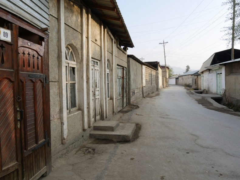 Chorqisloq, Tajikistan - A remote town where 69 villagers, including women and children, left to Syria. Image by Iris Oppelaar.