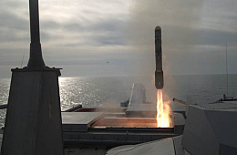 US Navy Littoral Combat Ship Test Fires Missile