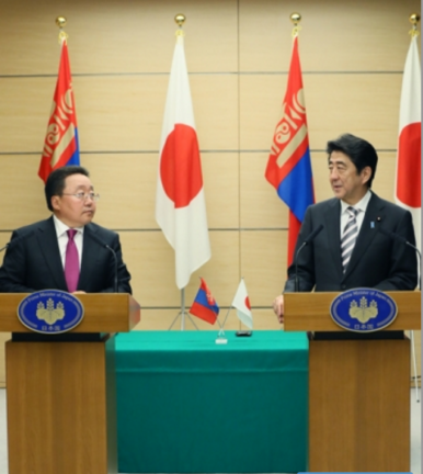 Far East Affairs: Mongolia and Japan
