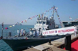 India's Navy Commissions Fast Attack Craft