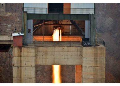 North Korea Tests High-Thrust Rocket Engine of 'Historic Significance'
