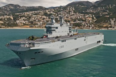 France to Dispatch Mistral Amphibious Assault Ship for Exercise in Western Pacific