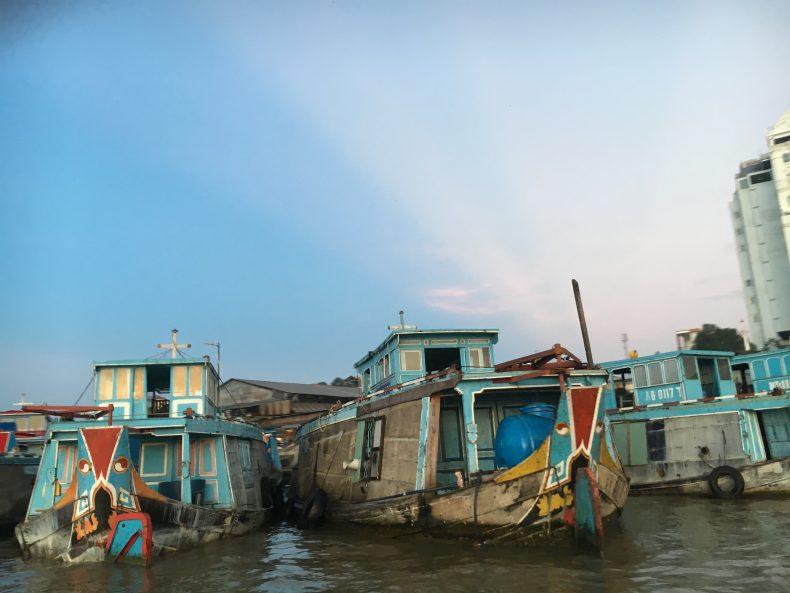 Mercati galleggianti del Delta del Mekong