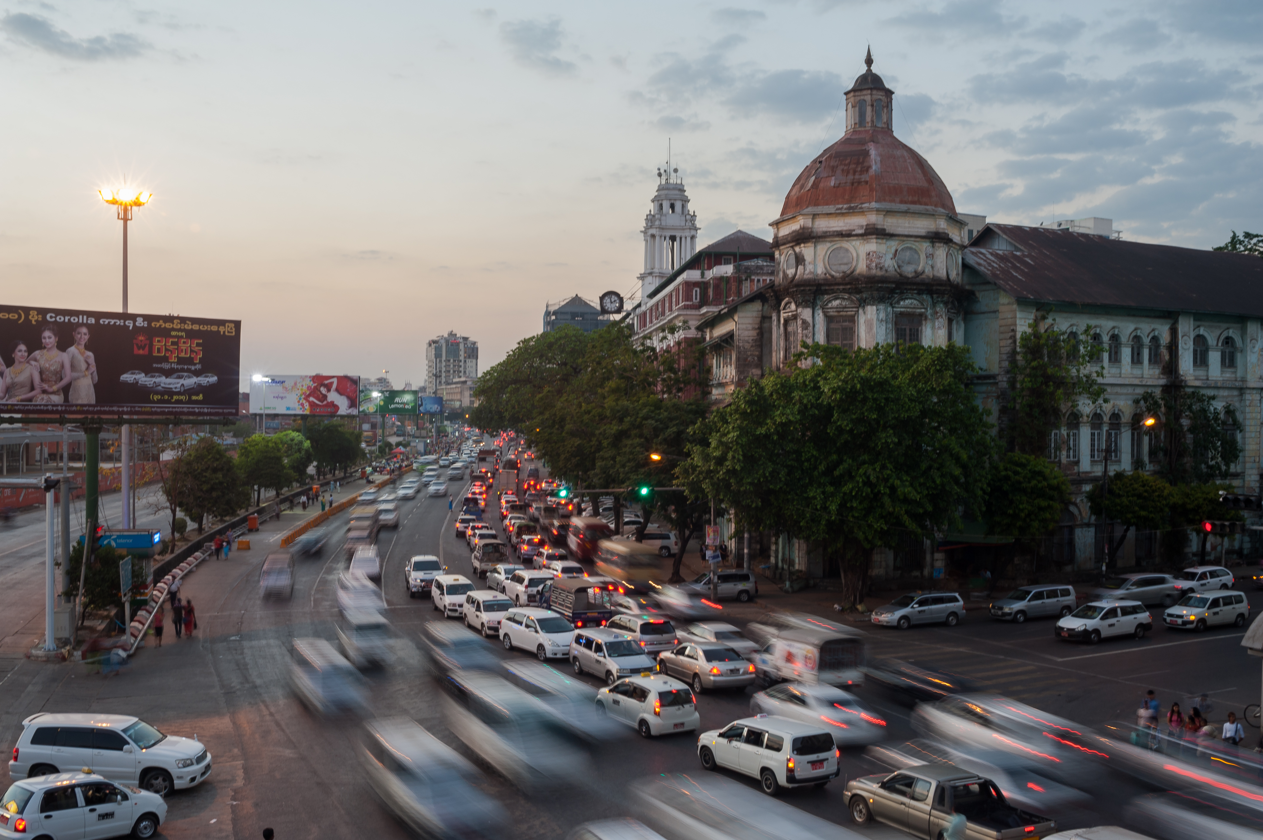 Myanmar's Amazing Modernization