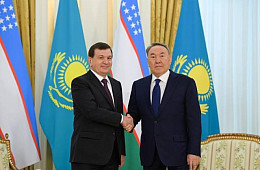 Uzbek and Kazakh Leaders Seek Greater Investment