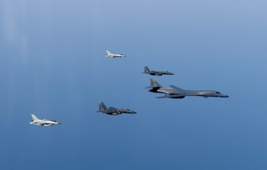 Japan, ROK, US Combat Aircraft Hold Military Drill