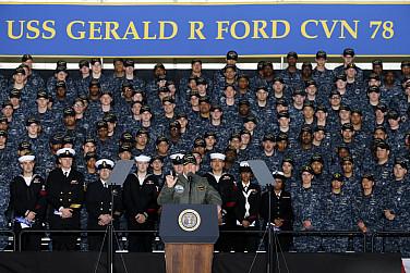 The Navy Will Struggle to Build Trump's 350-Ship Fleet