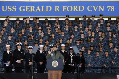 No Big Fleet Buildup in Trump's Proposed 2018 Budget