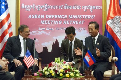 South Korea Delivers Military Vehicles to Cambodia