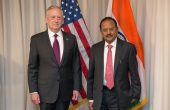 Mattis Hosts Indian National Security Adviser in Washington