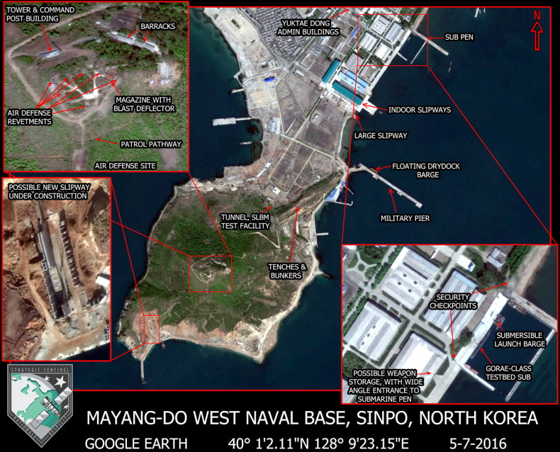 North koreas most important submarine base the diplomat 0 1 gumiabroncs Image collections