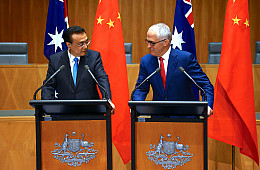China's Premier Li Tours Australia, New Zealand
