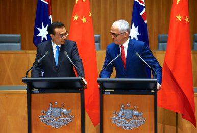 China's Premier Li Tours Australia, New Zealand