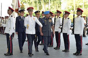 Malaysia's New Air Force Chief Makes First Singapore Visit