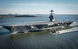 Pentagon Mulls Buying 2 Ford-Class Supercarriers at Once