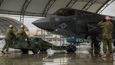 Japan: US Marine Corps F-35B Fighter Jets Gearing up for Combat