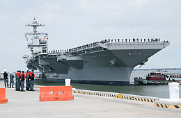 US Navy's New Supercarrier Successfully Completes Builder's Sea Trials