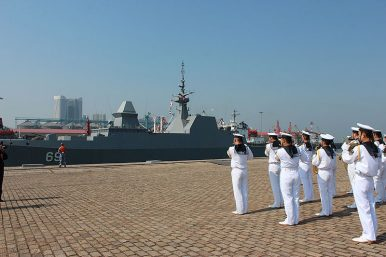 China, Singapore Launch Maritime Security Drills Amid Port Call