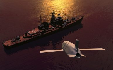 US Navy's New Long-Range Anti-Ship Missile Completes First Free Flight From Bomber