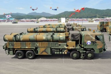 South Korea Test Fires New Ballistic Missile