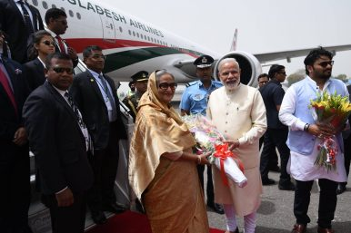 Delhi Woos Dhaka: Bangladesh PM Hasina Gets a Warm Welcome in India