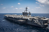 US Dispatches Carrier Strike Group to Korean Peninsula