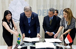Indonesia, Brazil Ink New Defense Pact