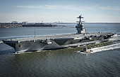 US Navy's New Supercarrier Finally Takes to Sea