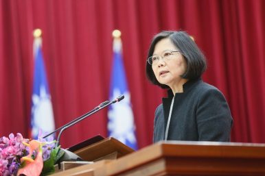 Taiwan Calls for New Cross-Strait Relations After Xi's Strong Speech