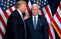 Trump's Indonesia Challenge Begins With Pence Visit
