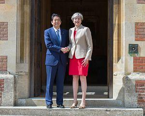 Japan, UK Talk Brexit and North Korea