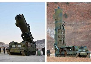 North Korea Launches What Is Possibly a New Intermediate-Range Ballistic Missile