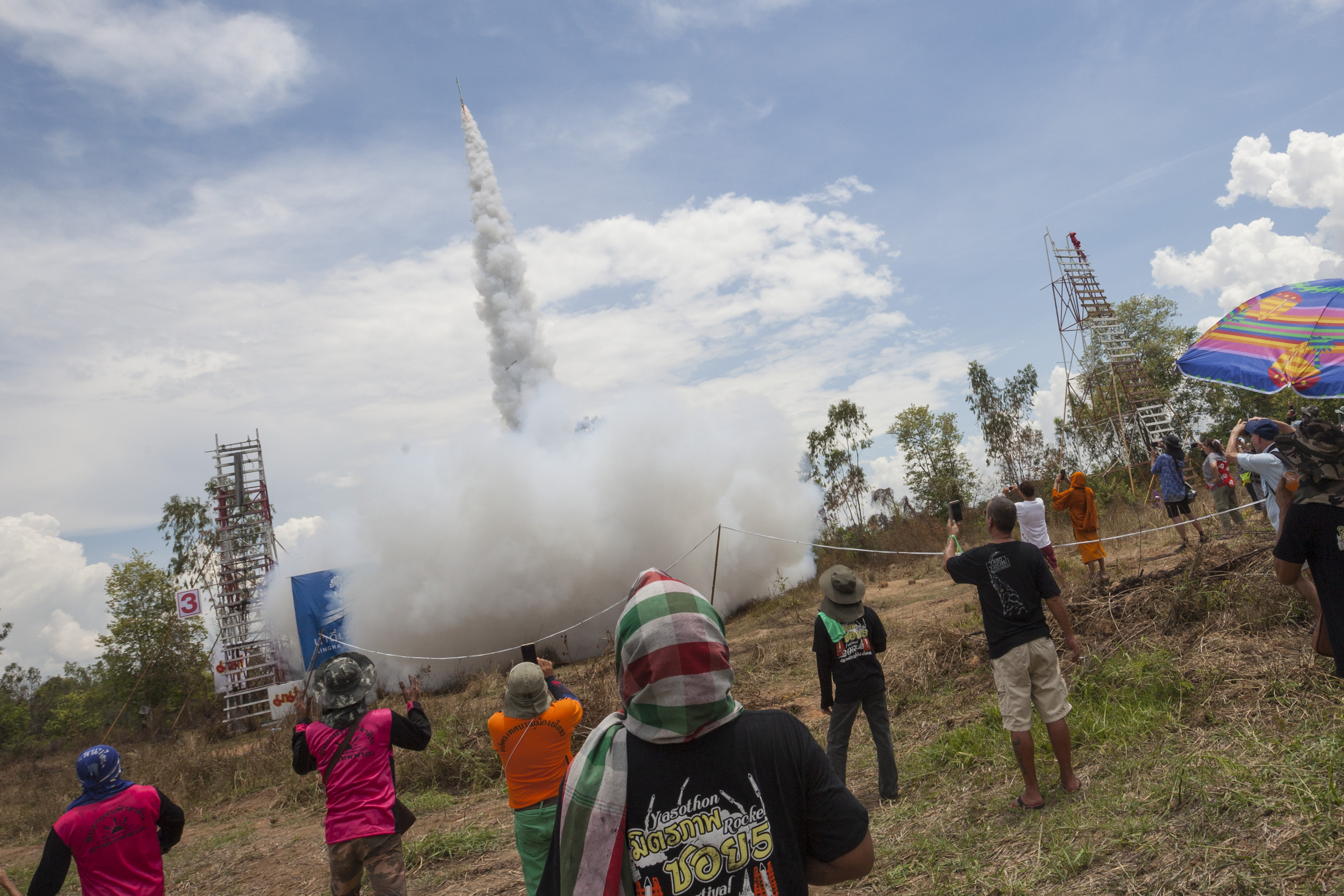 Rockets for Thailand's Gods