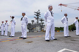 2nd US Navy Supercarrier Deploys in the Pacific