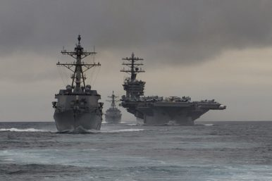 Is the US Navy Deploying a Third Carrier Strike Group to the Asia-Pacific?