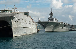 Vietnam: Japan's Largest Aircraft Carrier Participates in Major Naval Exercise