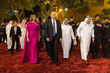 Trump's Pivot to the Middle East and China's OBOR