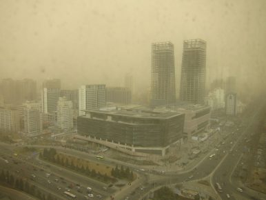 Going to Beijing? Be Ready to 'Eat Sand.'
