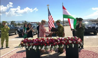 US Transfers $6 Million in Vehicles and Equipment to Tajikistan