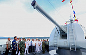Why Did China's Warships Visit the Philippines?
