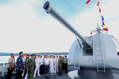 China Holds First Naval Exercise With Myanmar