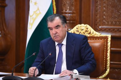Iran Courts Tajikistan
