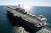 US Navy Launches New F-35B-Carrying Warship