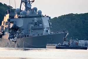 USS Fitzgerald Officer Pleads Guilty in Collision Role