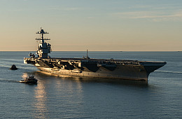 US Navy Accepts Delivery of $13 Billion Nuclear-Powered Supercarrier