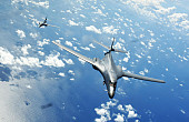 US Air Force Deployed Supersonic Strategic Bombers to South China Sea