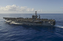 2nd US Navy Carrier Strike Group Arrives in Asia Pacific