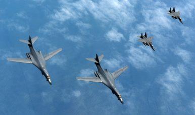 Following Death of Otto Warmbier, US Sends Strategic Bombers off Korean Peninsula