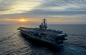 US Navy's Supercarrier Participates in Joint Australia-US Military Exercise