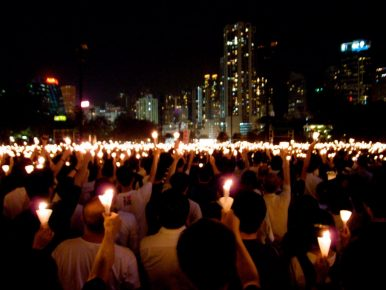 Remembering Tiananmen in Hong Kong